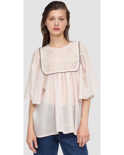 Блузка с длинным рукавом бежевый Dolcedonna