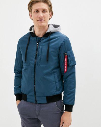Утепленная синяя куртка Doctor E