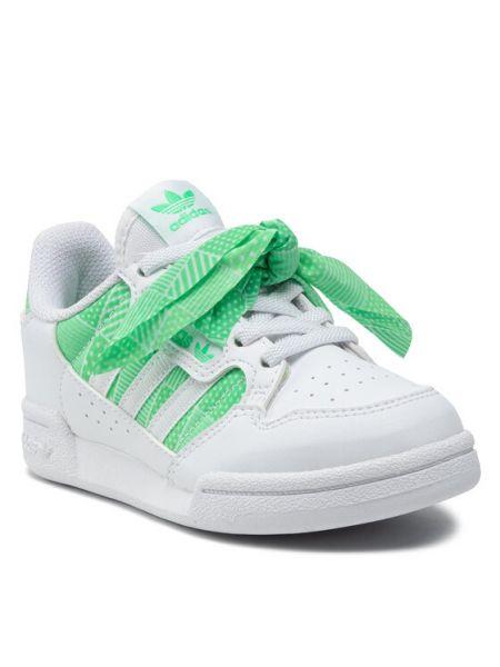 Mokasyny - białe Adidas
