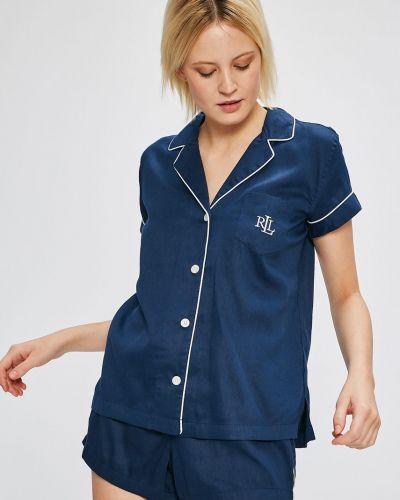 Пижама на пуговицах хлопковая Lauren Ralph Lauren