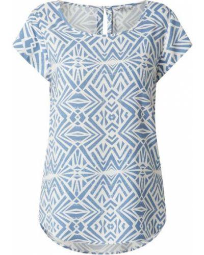 Niebieska bluzka z wiskozy Only