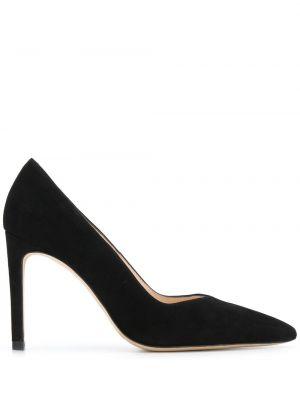 Черные туфли-лодочки без застежки Sandro Paris