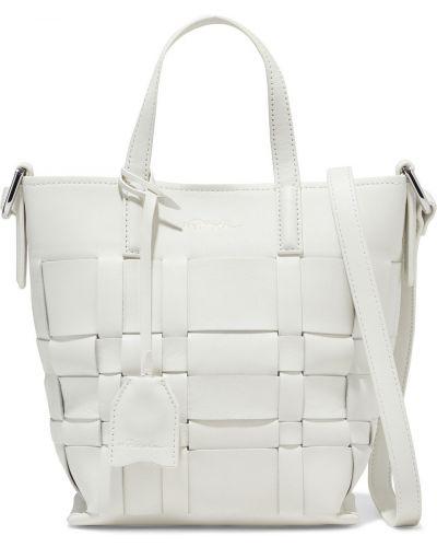 Biała torba na ramię skórzana 3.1 Phillip Lim