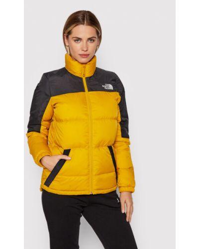 Kurtka puchowa - żółta The North Face