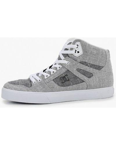Серые текстильные пинетки Dc Shoes