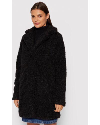 Czarny płaszcz zimowy Noisy May