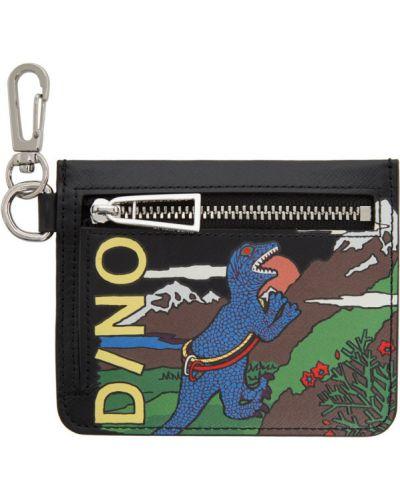 Srebro portfel wytłoczony z kieszeniami Ps By Paul Smith