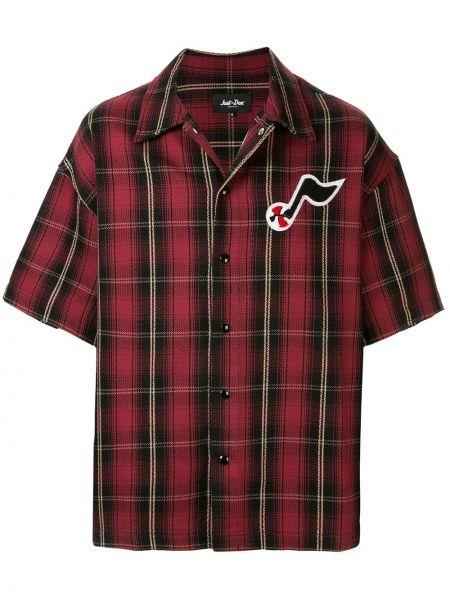 Klasyczna klasyczna koszula krótki rękaw bawełniana Just Don