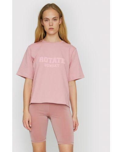 Różowa t-shirt Rotate