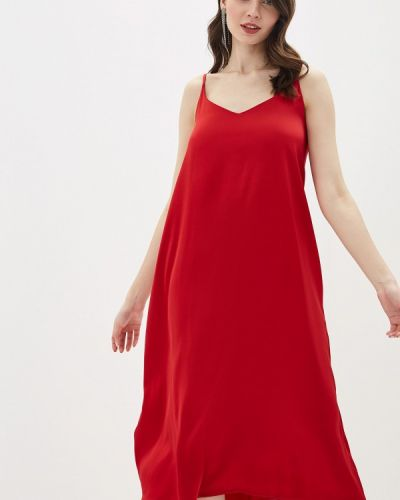 Платье платье-комбинация красный Vera Nicco