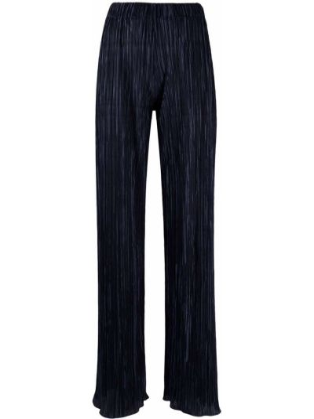 Широкие брюки - синие Charlott