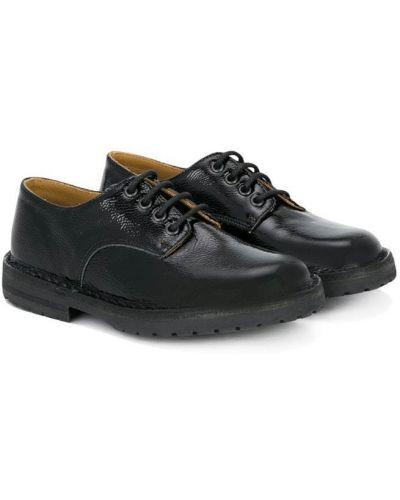 Туфли лаковые на шнуровке Pèpè