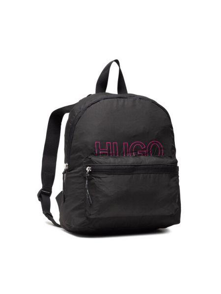 Czarny plecak Hugo