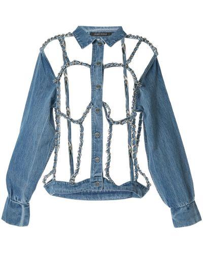Классическая синяя куртка Pony Stone