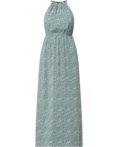 Sukienka rozkloszowana w paski - niebieska Tom Tailor Denim
