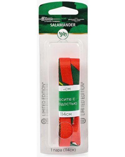 Красные шнурки Salamander Professional
