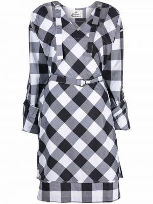 Серое платье длинное Vivienne Westwood