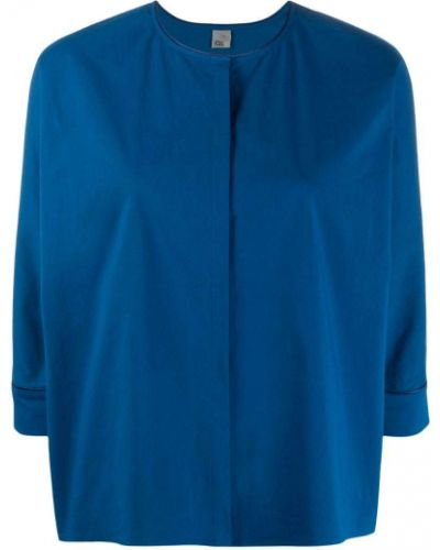 Блузка синяя Ql2