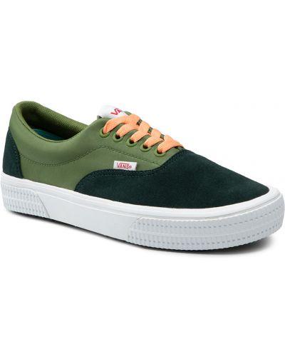 Tenisówki - zielone Vans