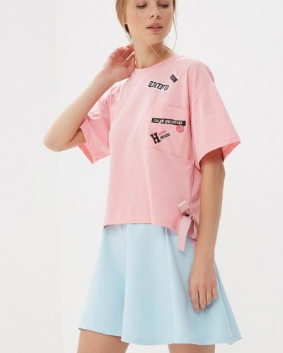 Розовая футболка Befree