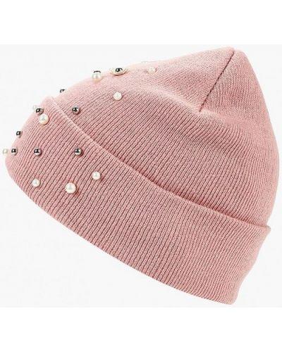 Розовая шапка осенняя Befree
