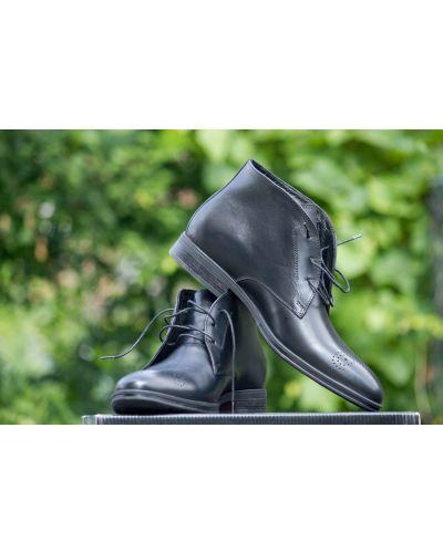 Блестящие ботинки - черные Ikos