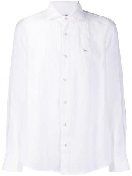 Koszula z długim rękawem długa z kołnierzem Seventy