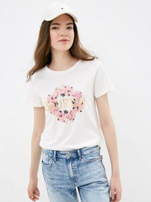 Белая футболка с короткими рукавами B.young