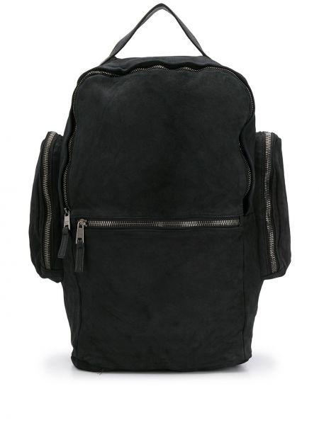 Czarny plecak bawełniany Giorgio Brato