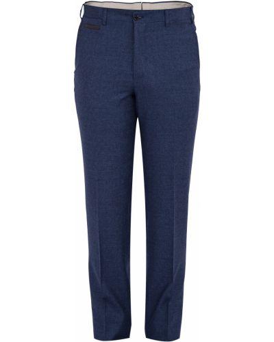 Прямые брюки с карманами с поясом Stefano Ricci