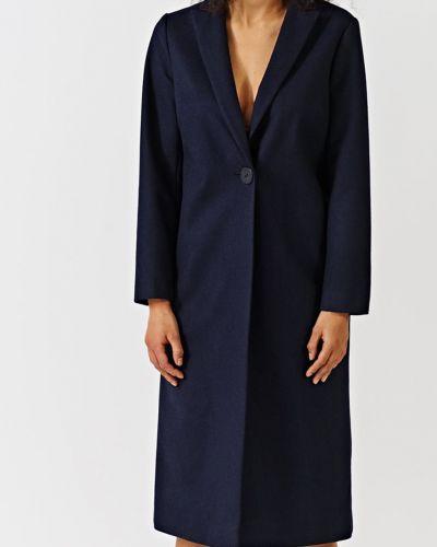 Утепленная куртка прямая на пуговицах Simple