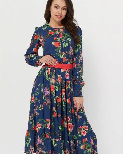 Вечернее платье синее Krismarin