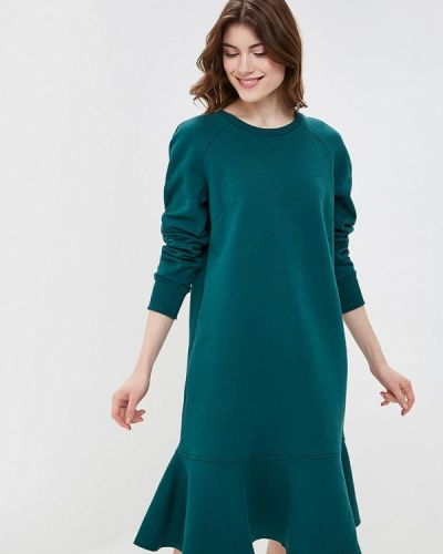 Платье осеннее зеленый Maria Rybalchenko