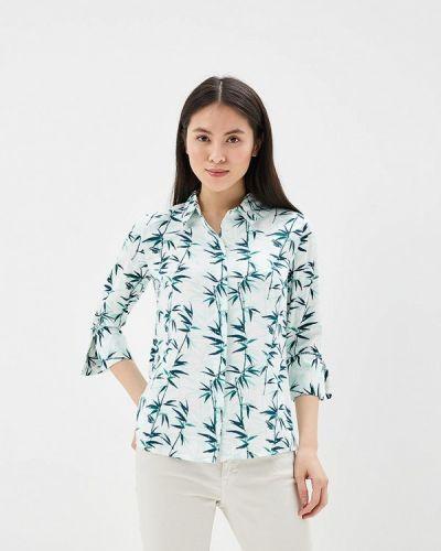 Блузка зеленый весенний Modis