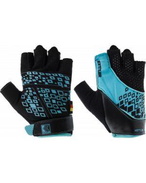 Перчатки без пальцев кожаные нейлоновые Kettler