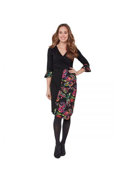 Платье миди футляр облегающее La Redoute