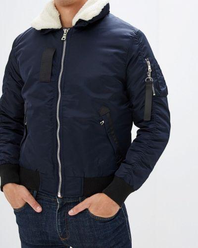 Утепленная куртка осенняя синяя Chromosome