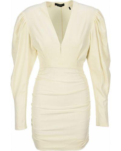 Beżowa sukienka Isabel Marant