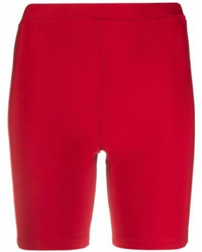Облегающие красные шорты с поясом Atu Body Couture