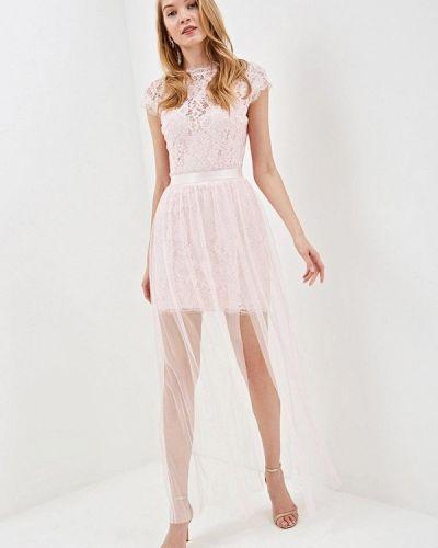 Вечернее платье весеннее розовое Love Republic