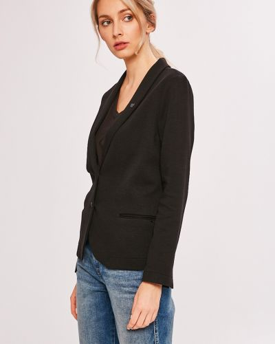 Классический пиджак прямой черный Scotch & Soda