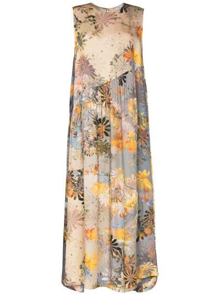 Sukienka z jedwabiu Collina Strada