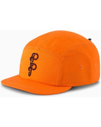 Bejsbolówka - pomarańczowa Puma