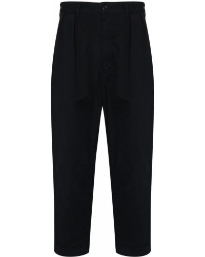 Spodnie bawełniane - czarne Beams Plus