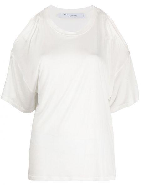 Топ с открытой спиной белый Iro