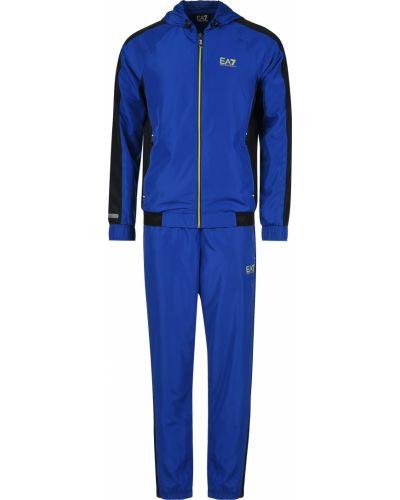 Спортивный костюм синий Ea7 Emporio Armani