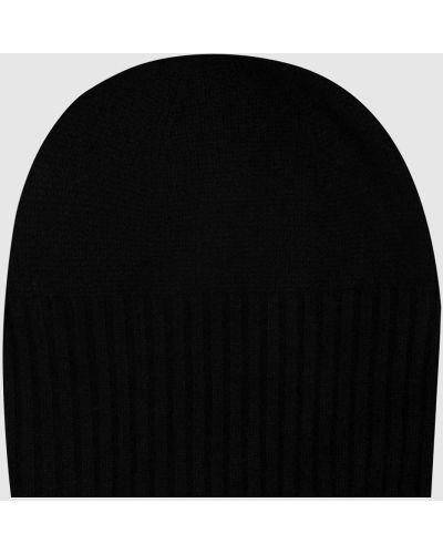 Кашемировая черная шапка Allude