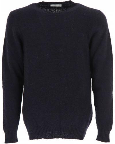 Niebieski sweter wełniany Circolo