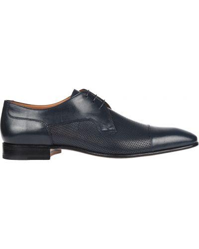Туфли с перфорацией Moreschi