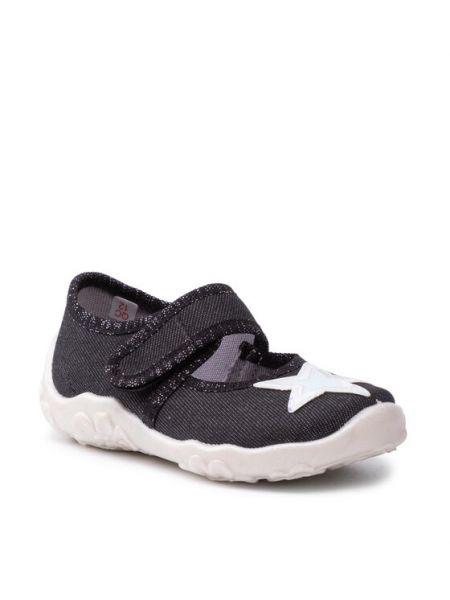 Sandały - czarne Superfit